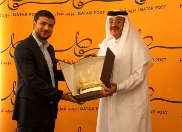 Tipax and Q-Post agreed to share their resources for the establishment of a courier network between Iran and Qatar to help boost bilateral trade.