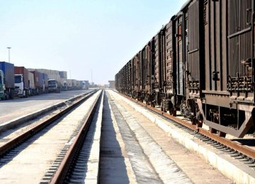 Iran-Germany Cargo Train Expected to Roll Next Year