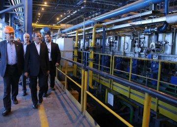 Saba Steel Complex   Production Doubles