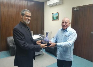 Iran, Cuba Discuss Energy Ties