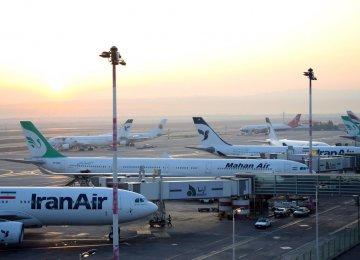 Iran Airport Traffic Down 13%