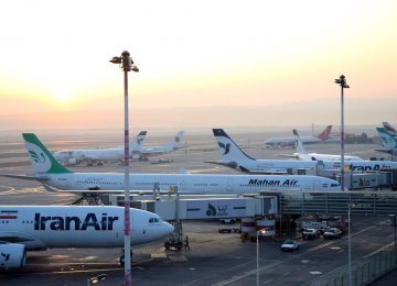 Iranian Airports Traffic Down 15%