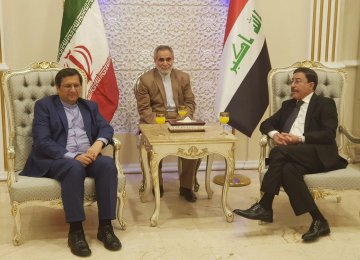 Iran's CB Chief Signs Payment Mechanism Deal in Baghdad