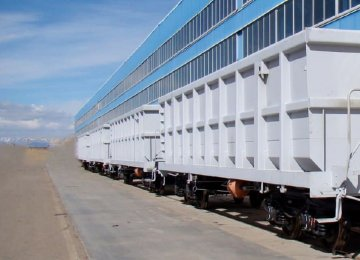 Iran Self-Sufficient in Manufacturing Rail Freight Wagons