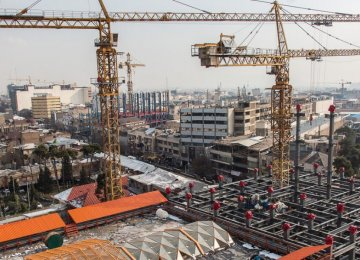 Tehran's Construction Material Inflation Tops 29 Percent in Q1