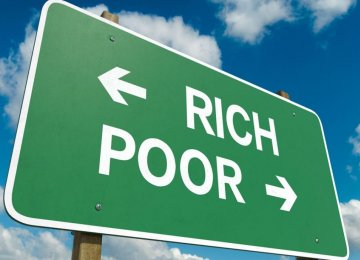 Rich-Poor Inflation Gap Widening
