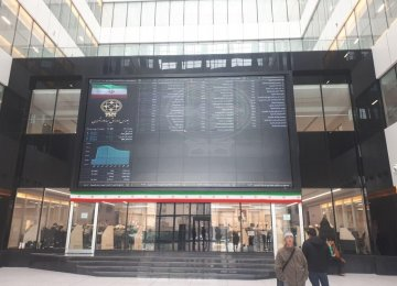 Tehran Stocks Near Threshold Level
