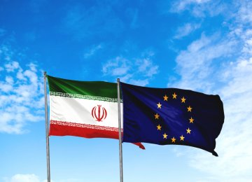 Iran's Trade With EU Hits €1.6 Billion