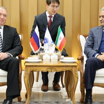 Iran, Russia Commerce Chamber Chiefs Discuss Trade Ties Amid Sanctions