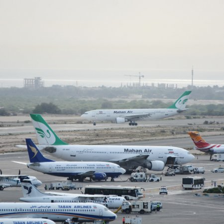 Growth in Kish Int'l Airport Traffic
