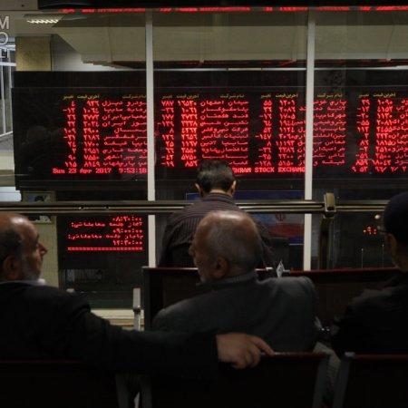 Tehran Stocks on Fire