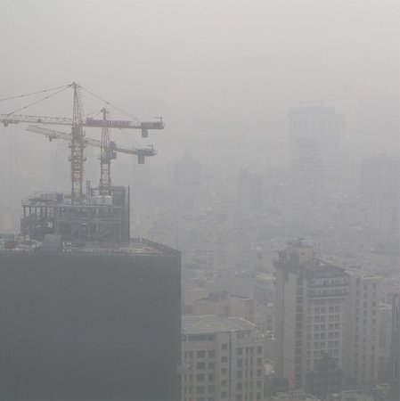 Air Pollution Choking Tehran