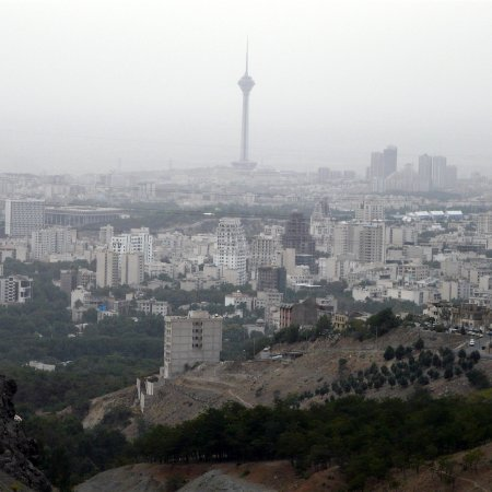 Air Quality in Tehran Did Not Improve Even for 1 Day in Oct.