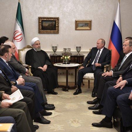 Iran, Russia, Turkey Meet to End Terrorist Threat in Syria's Idlib