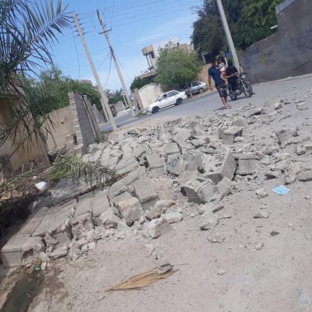 5.9-Magnitude Quake Hit Bushehr, Five Injured