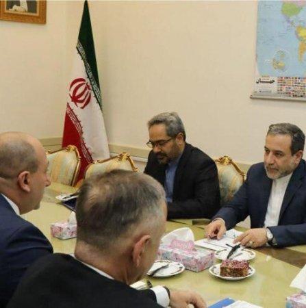 Araqchi, Georgian Counterpart Discuss Ties