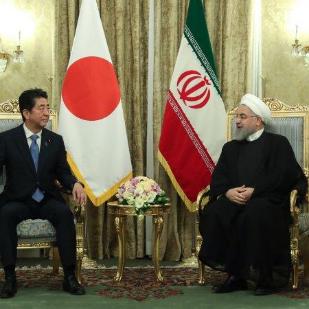 Japanese Premier Arrives for Talks