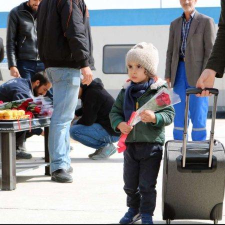 Tehran-Hamedan Passenger Rail Service Launched