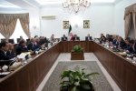 A host of high-level officials, including several ministers, CBI Governor Valiollah Seif and two deputies of President Hassan Rouhani were present at the meeting on April 25.