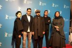 From left: Negar Moghaddam, Pooya Badkoobeh, Ali Mosaffa, Yasna Mirtahmasb and Shabnam Moghaddami in Berlin.