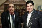 Iraj (L) and Salar Aghili