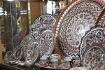 Iran is among the world's top three producers of handicrafts, along with China and India.