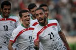 Iran national team's jersey had a design of the Persian cheetah from last World Cup until this year's qualifiers.
