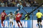 Iran goalkeeper Alireza Beiranvand had several great saves against Spain.