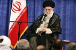 Leader of the Islamic Revolution Ayatollah Seyyed Ali Khamenei addresses authorities in Tehran on Wednesday.