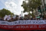 French Left Stages Street Showdown Over Macron Reforms to Labor Code