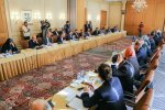 Iranian and EU delegations hold political consultations in Tehran on Nov. 20.
