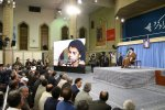 Ayatollah Seyyed Ali Khamenei met war veterans and commanders in Tehran on May 24.