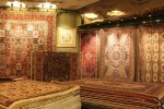Persian hand-woven carpet exports declined significantly due to international sanctions imposed on Iran over its nuclear program.