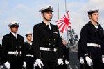 Japan Maritime Self-Defense Force sailors