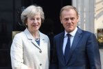 Tusk Warns UK Against Threats of No Deal