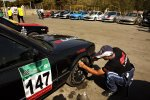 Iranians enjoying drag racing  for first time.
