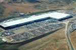 Tesla's Gigafactory in Nevada, the US