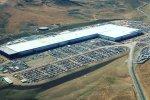 Tesla's Gigafactory in Nevada, the US