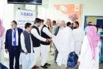 First Tehran Hajj Flight Lands in Medina