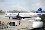 JetBlue will cut its capacity by 300 seats a day.