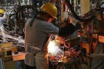 Turkey's January industrial output rose an annual 12%.