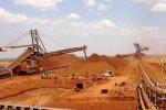 Chinese ironworks are increasingly  using Australian ore, which has  a high iron content.