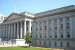 The treasury department in Washington