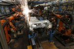 Germany's industrial production, exports and retail sales declined in the first quarter, signaling that growth had slowed down.