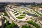 Tehran Book Garden located on Haqani Highway, is part of Abasabad Cultural Complex which includes Nature Bridge, Flag Tower, Gonbad Mina Planetarium and Art Garden among others.