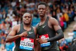 Coleman Edges Prescod by a Thousandth in 100m