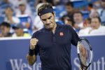 Federer Wears Down Wawrinka in Cincinnati