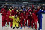 Iranian women futsal team finished third.