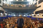 Mehran Modiri attended his film screening at Qods Cinema in Tehran and took a photo with his fans.