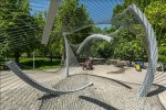 'Installation #5' by CAAT Studio in the middle of  Mellat Park in north Tehran